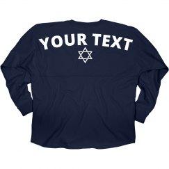 Custom Hanukkah Star Of David