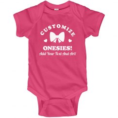 Custom Text Mother's Day Bodysuit