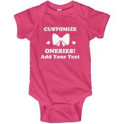 Custom Text Mother's Day Bodysuit