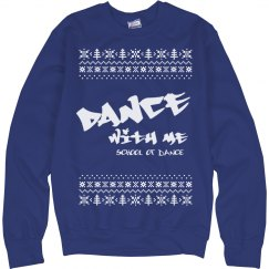 Christmas Blue Sweatshirt