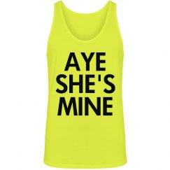 Aye She's Mine in Neon