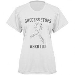 Success stops if i do
