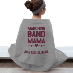Marching Band Mama Stadium Blanket