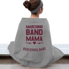 Marching Band Mama Stadium Blanket