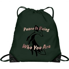fox peace shoulder bag