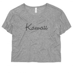 Kawaii Sporty Crop Top