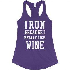 I Run for Wine Runners