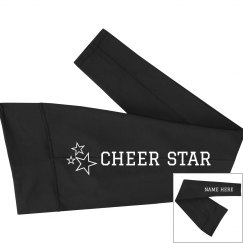 Custom Name Cheer Star