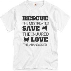 Rescue Save Love T