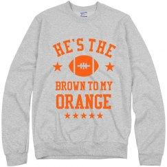 The Brown To My Orange Besties