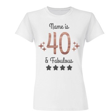 Fabulous And Forty