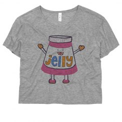 Peanut Butter Jelly PBJ Tee