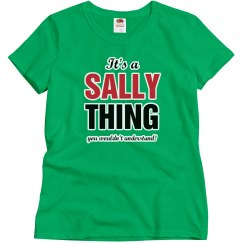 It's a Sally thing
