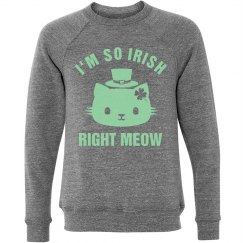 Irish Right Meow