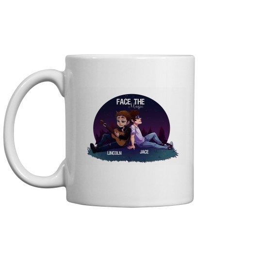 Face the Music mug