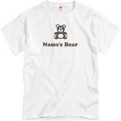 Gay Rights Custom Name's Bear