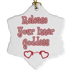 Inner Goddess Ornament