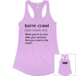 SGDA Barre crawl shirt