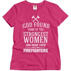 strong women Firefighters