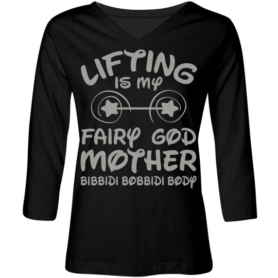 Fairy Godmother 3/4 sleeves