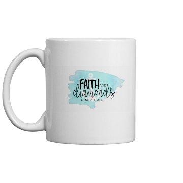 Faith an Diamonds Mug