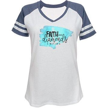 Faith and Diamonds Ball Shirt
