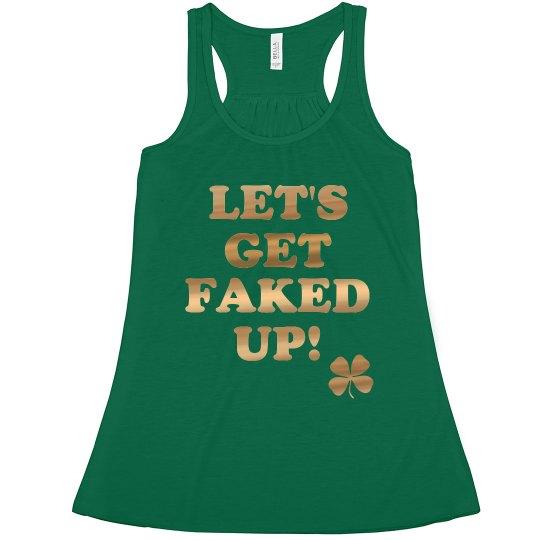 Fake Patty's Day Shirts Green