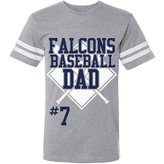 FALCONS BASEBALL DAD