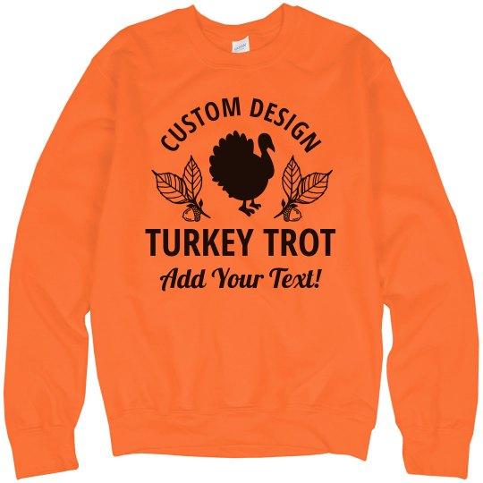 Fall Charity Run Custom Turkey Trot