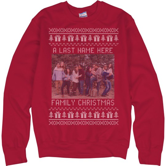 Family Christmas Custom Ugly Sweaters