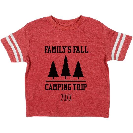 Family Fall Camping Trip