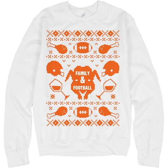 Family Football Sweater