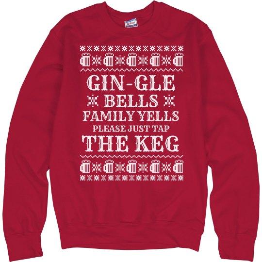 Family Makes Me Drink Christmas