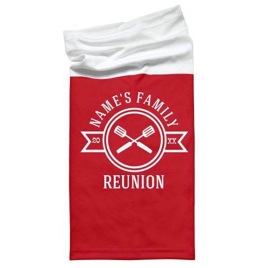 Family Reunion Custom Face Cover Gaiters