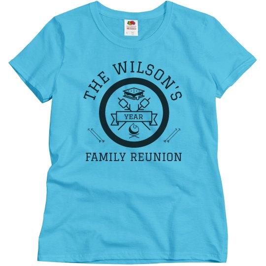 Family Reunion Custom Group Tees