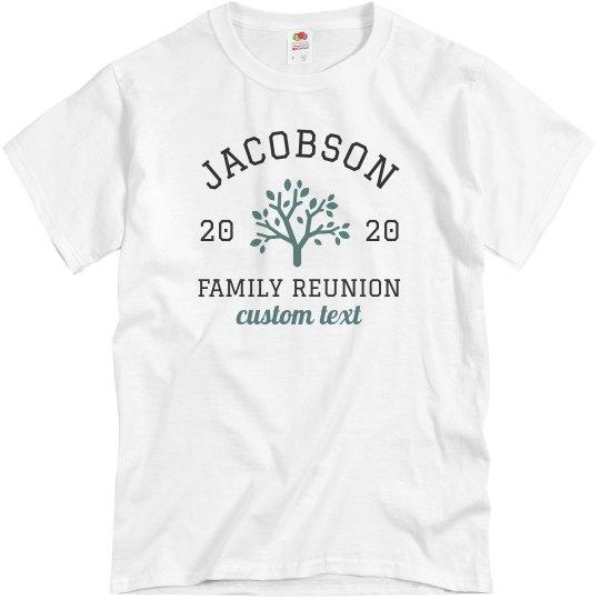 Family Reunion Custom Tees