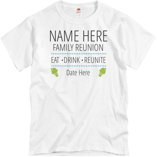 Family Reunion Ice Cream Tee