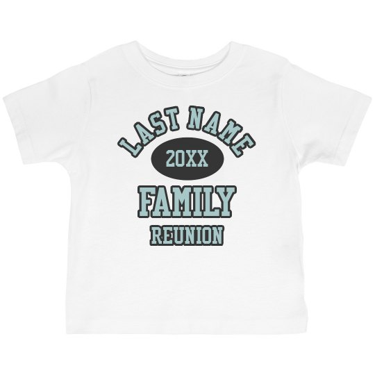 Family Reunion Shirts For Children
