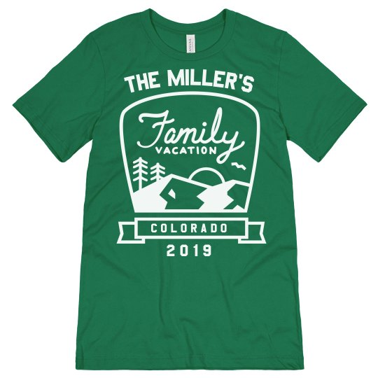 Family Vacation Custom Road Trip Tees