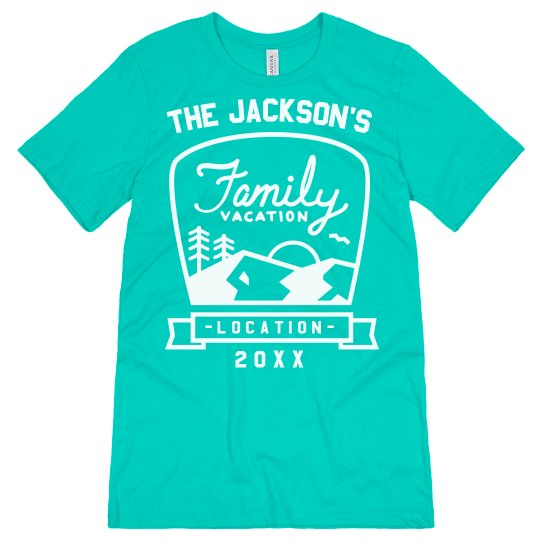 Family Vacation Custom Tees