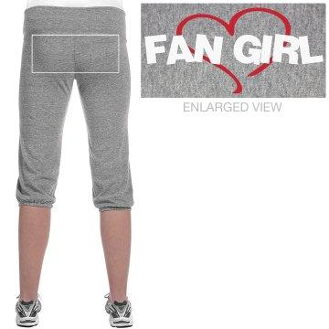 FAN GIRL CAPRI SWEATS