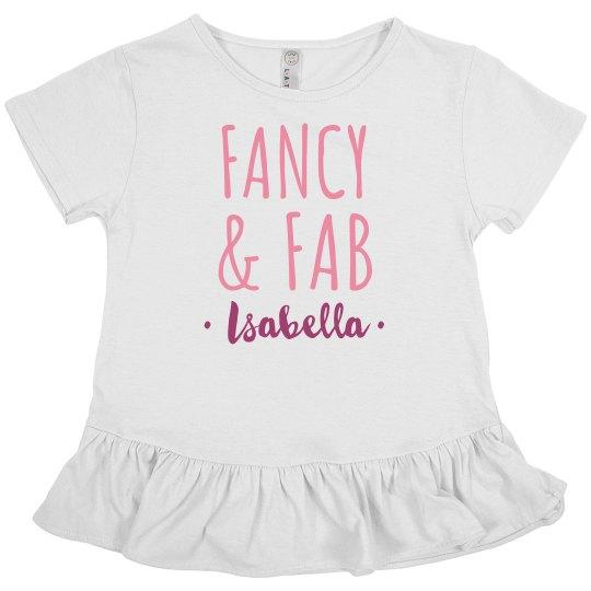 Fancy And Fab Custom Name