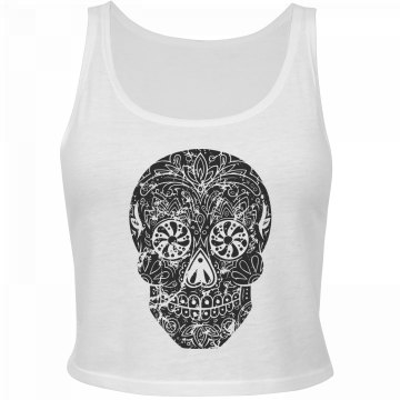 Fancy Distressed Skull