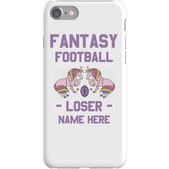 Fantasy Football Custom Phone Case