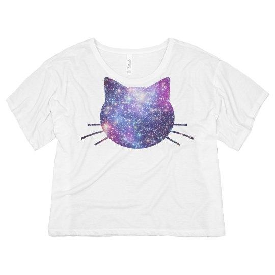 Far Out Galaxy Cat