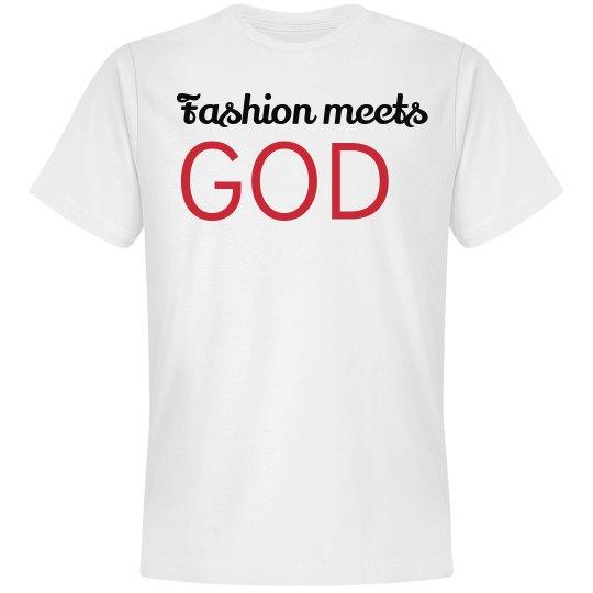 Fashion Meets God Tee