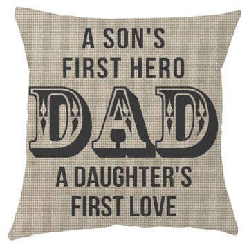 Father Day Pillow Cover
