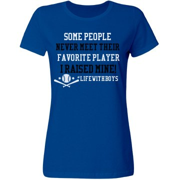 Favorite Player Baseball (Form Fitting)
