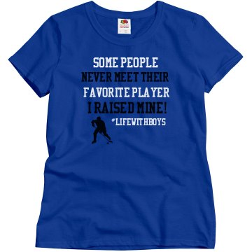 Favorite Player Hockey (Form Fitting)