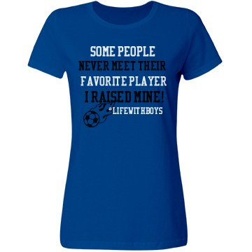 Favorite Player Soccer (Form Fitting)